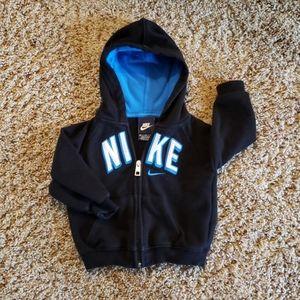 Cute Nike toddler hoodie, like new!